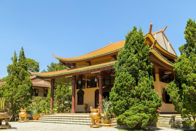 Thien Vien Truc Lam Monastery. stock images
