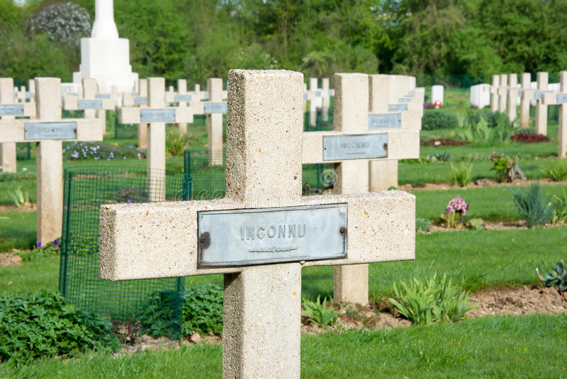 Thiepval Wojenny pomnik obrazy royalty free