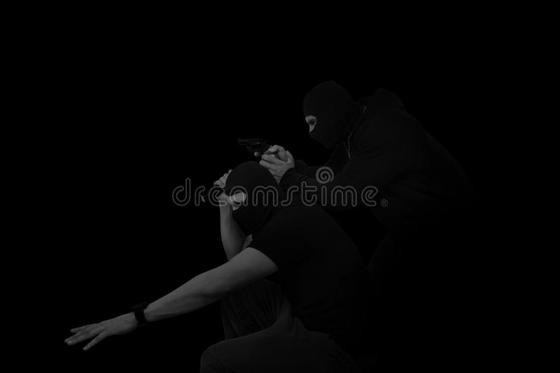 Thieves. stock images