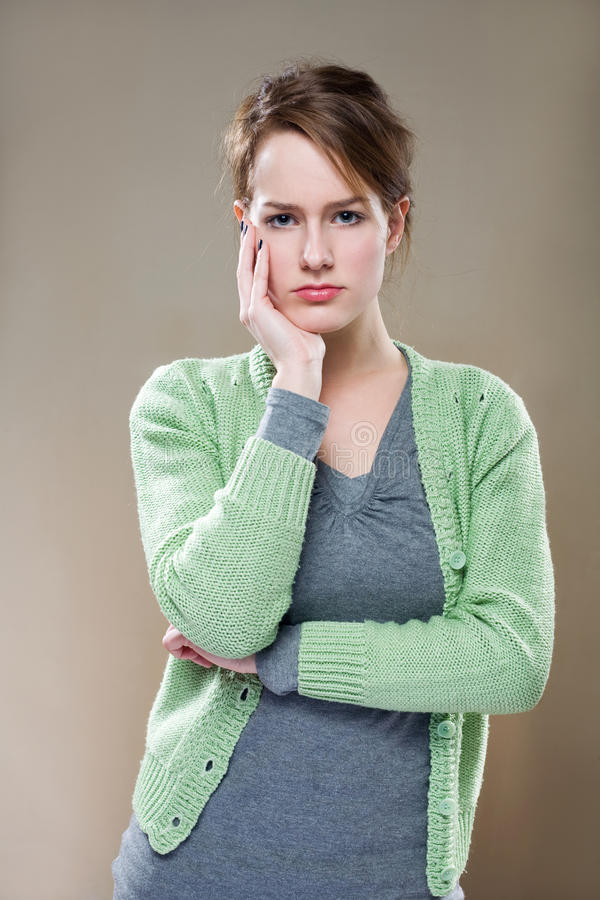 Download Thikning hard... stock image. Image of pondering, thinking - 22434455
