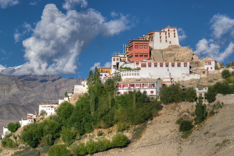 Thiksay修道院,拉达克,查谟和克什米尔,印度 库存照片