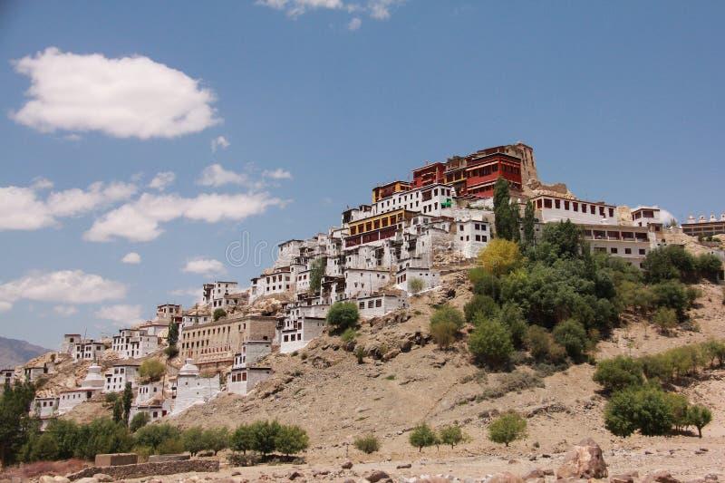 Thiksay Monastery01 obrazy stock