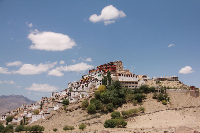 Thiksay Monastery05 royalty free stock photos