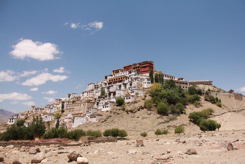 Thikse monaster zdjęcia stock