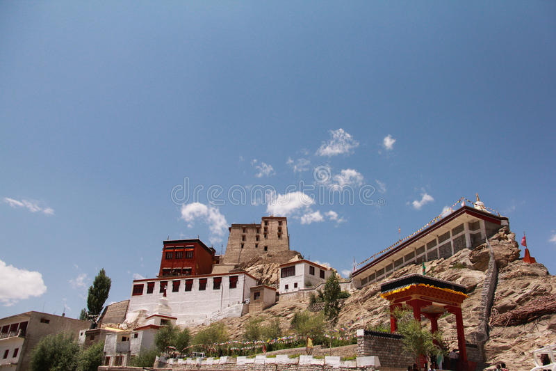 Thikse Monastery 05 royalty free stock photo