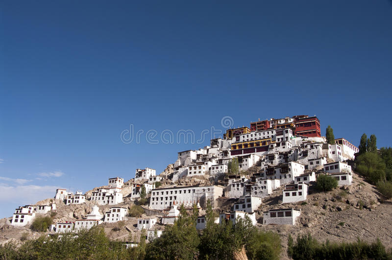 Thikse Monastery In Ladakh Royalty Free Stock Photography
