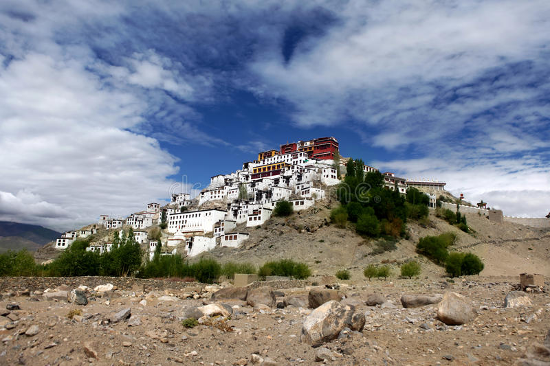 Download Thiksey Gompa Or Thiksey Monastery Stock Image - Image: 21307607