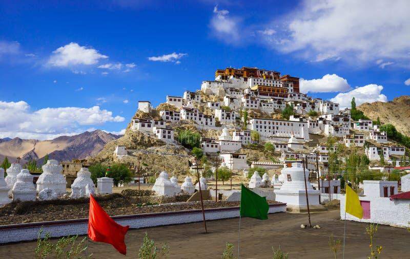 Thiksey-Kloster oder Thiksey Gompa, Leh Ladakh, Jammu und Kashmi stockbilder