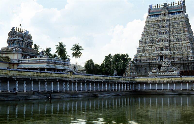 Thillai Nataraja Temple, Chidambaram, Tamilnadu, Indien fotografering för bildbyråer