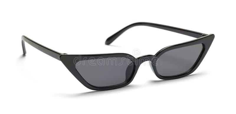 Black Pointed Sun Glasses stock photo