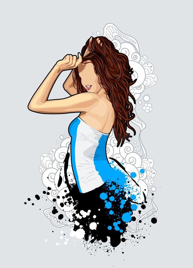 Free Thin Girl Royalty Free Stock Image - 11912536