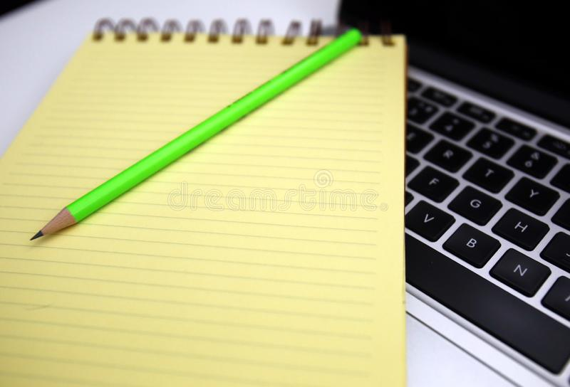 Things neccessary for hard working time. Things neccessary for student, bussiness people, hard working stock image