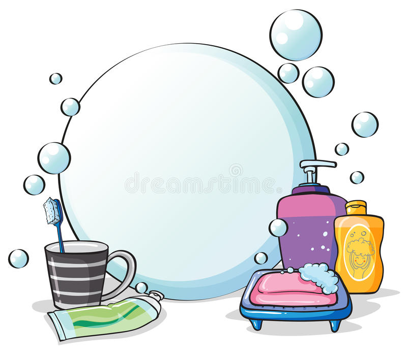 Download Things needed for grooming stock vector. Image of bath - 31791619