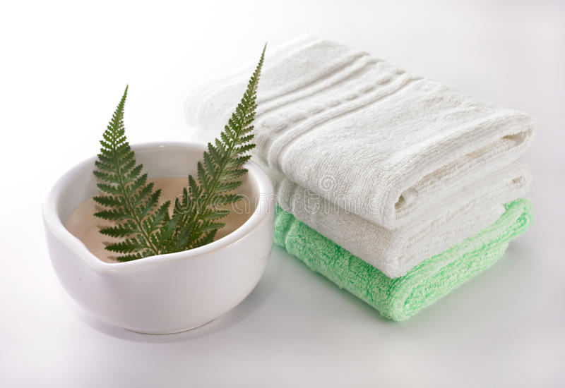 Things For Spa Stock Image