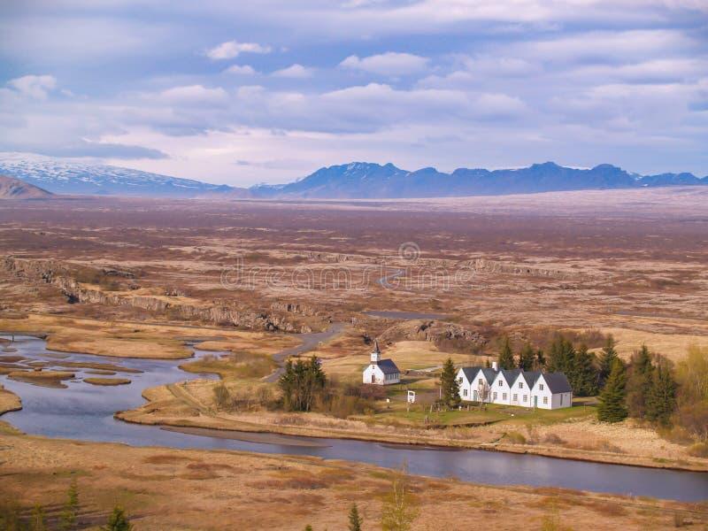 Thingvellir, Islanda fotografia stock libera da diritti