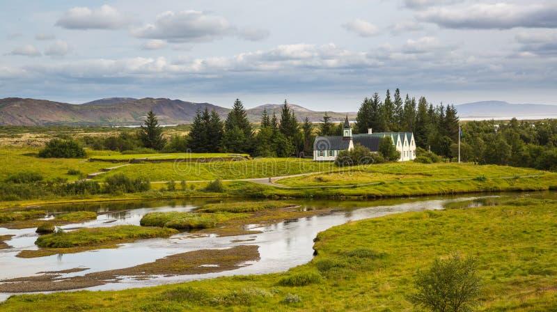 Thingvellir l'islande photos libres de droits
