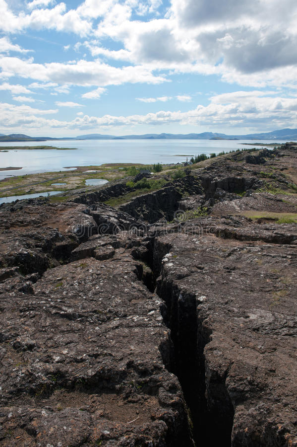 Thingvellir - stationnement national, Islande photo stock