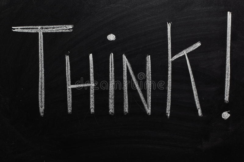 Download Think! stock photo. Image of brainstorm, creativity, concept - 13911622
