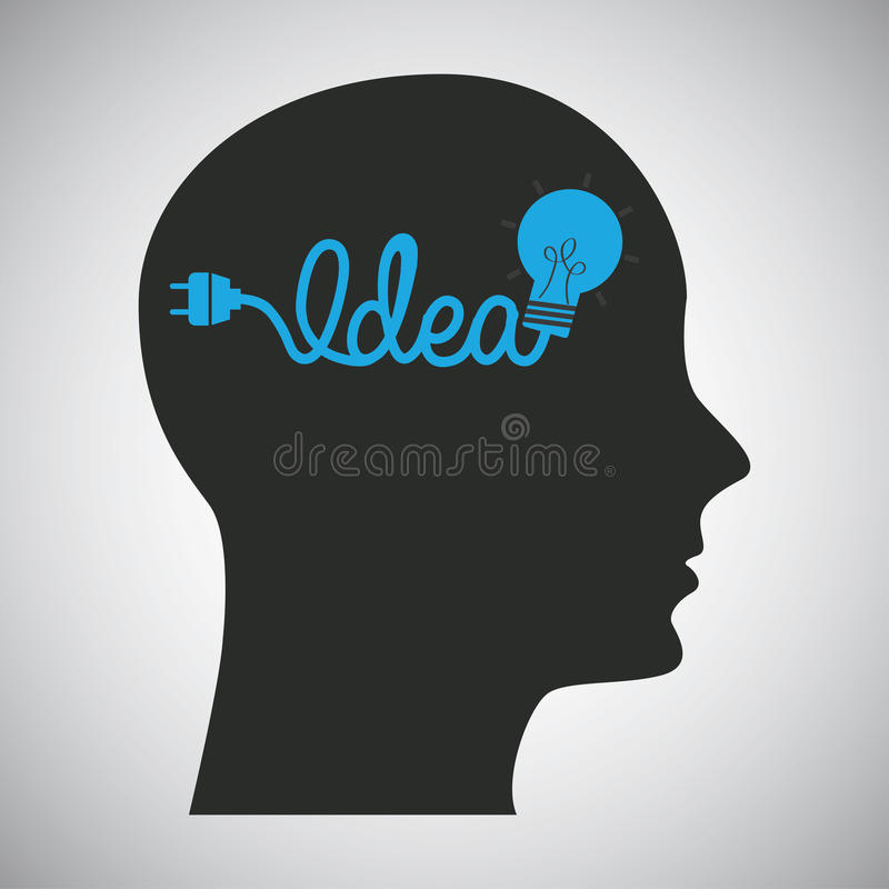 Think design vector illustration