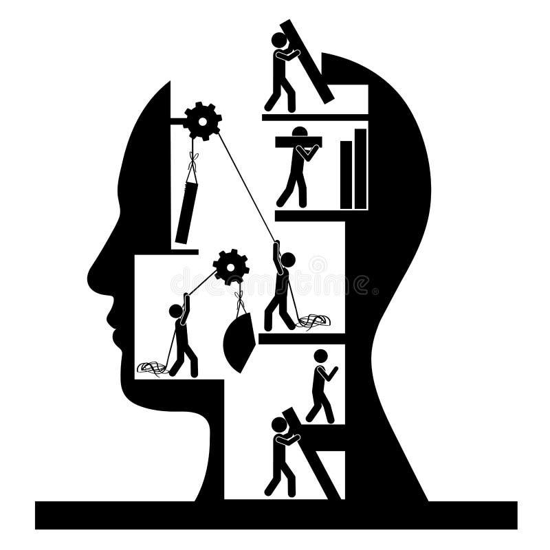 Think design stock illustration
