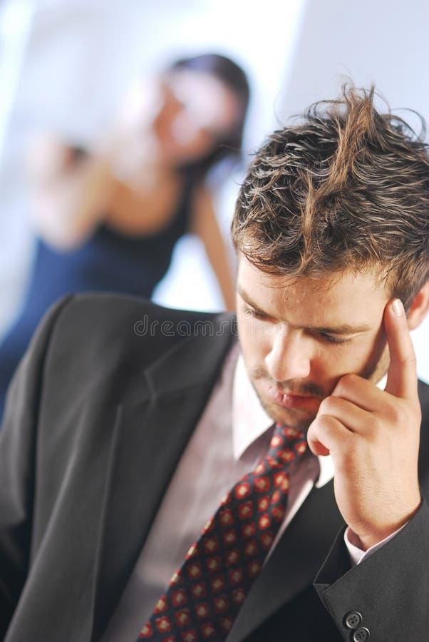 Free Think Hard Man Stock Image - 3923481