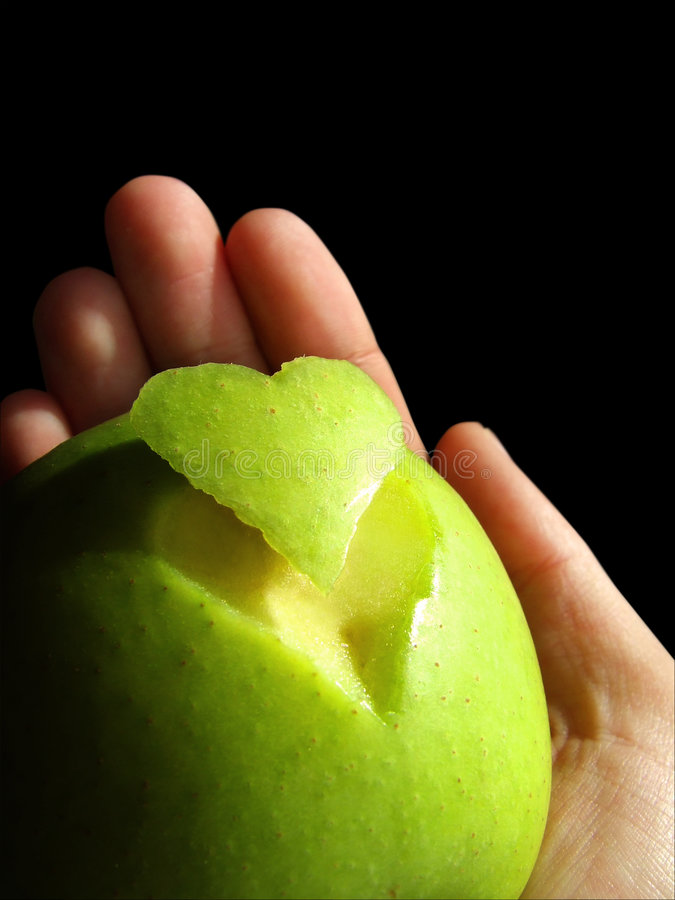 Download Think healthy stock image. Image of core, life, drop, apple - 1266519