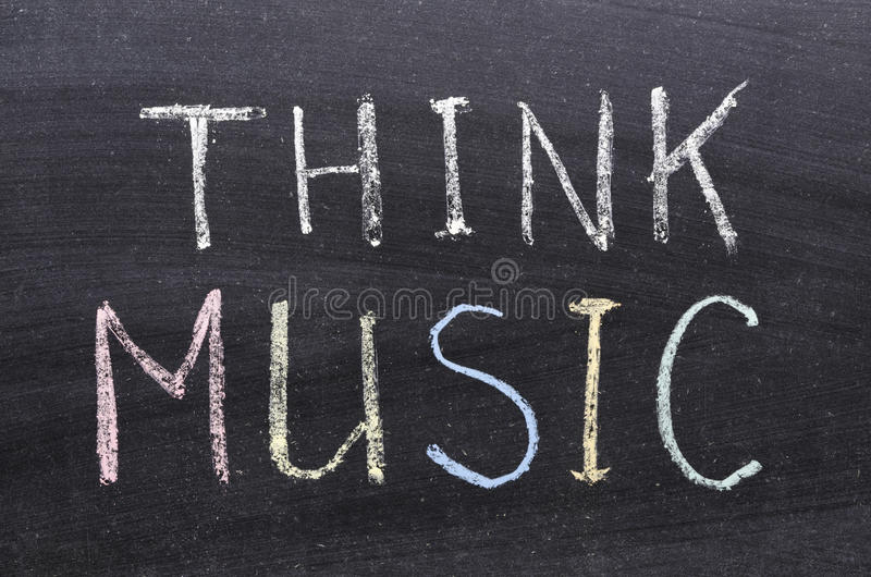 Download Think Music Stock Photography - Image: 33686692