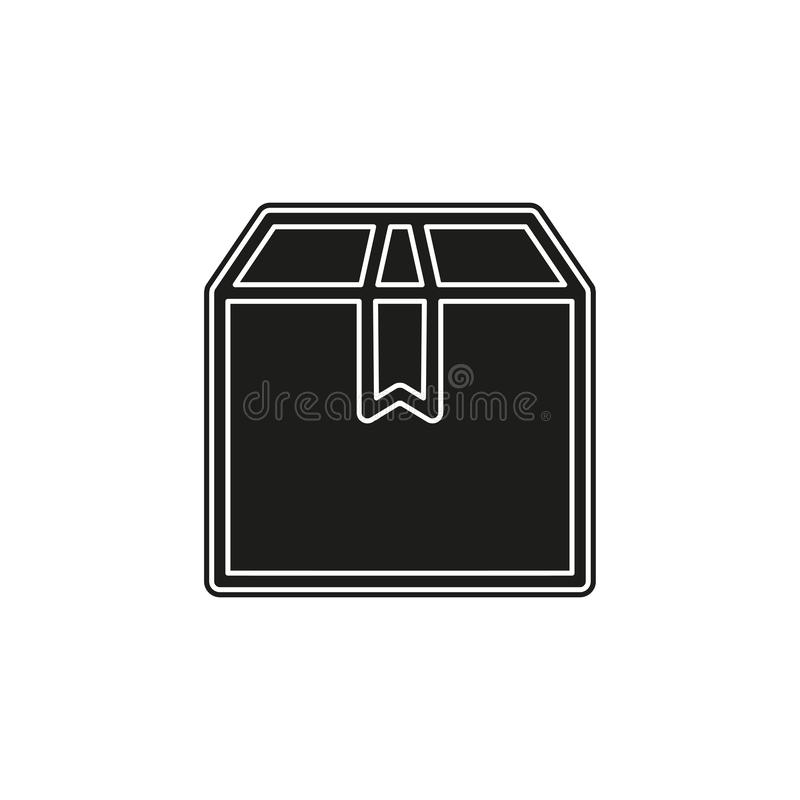 Think out of box concept line icon. Simple element illustration royalty free illustration