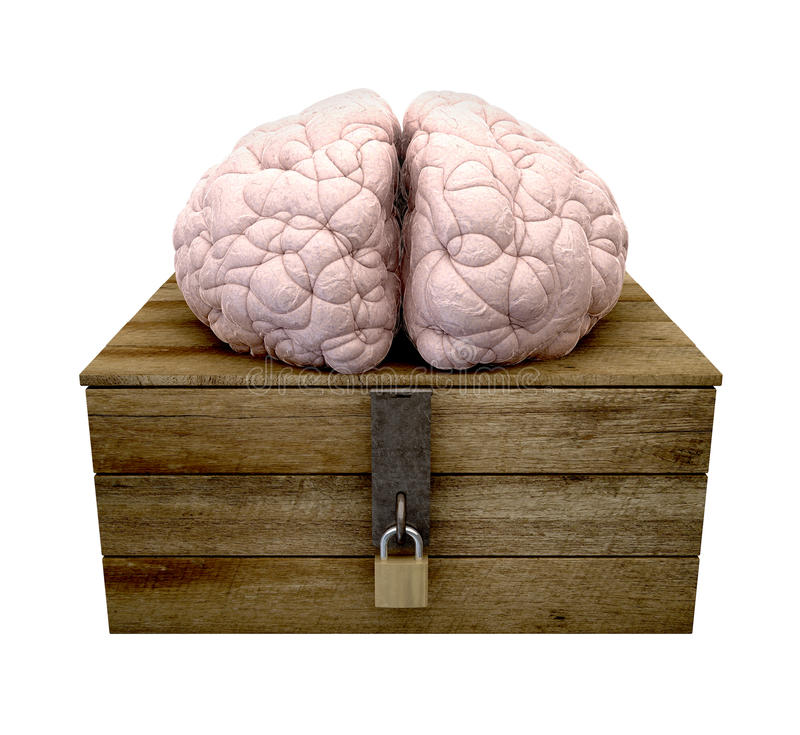 Download Think Outside The Box Brain Stock Photos - Image: 27525833