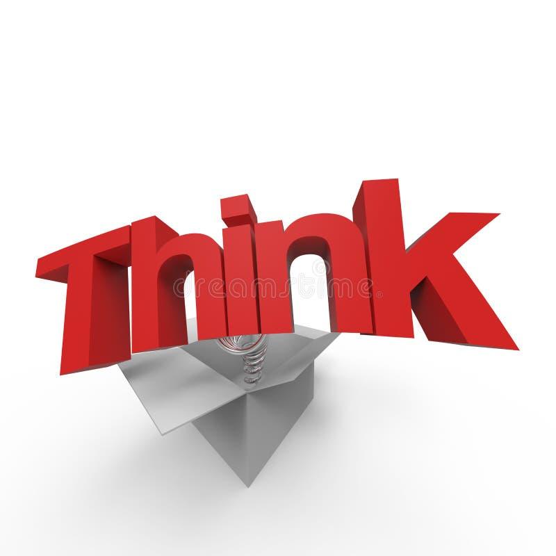 Download Think outside the box I stock illustration. Illustration of intelligence - 28774468