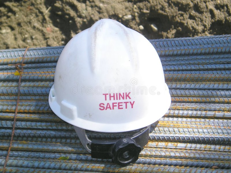 Always Think Safety royalty free stock images