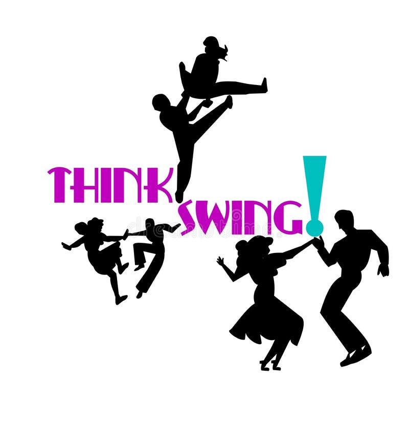 Download Think swing dancers stock image. Image of jive, cabaret - 25420573