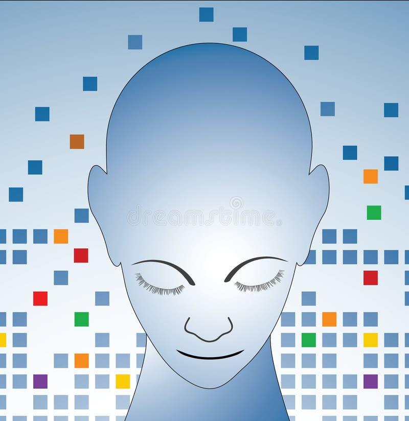 The Thinker Stock Image