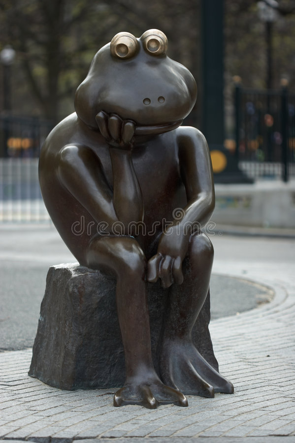 The Thinker II royalty free stock images