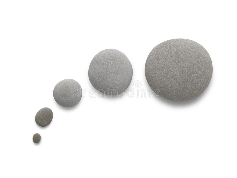 Download Thinking Baloon With Pebbles Stock Photo - Image: 27402860