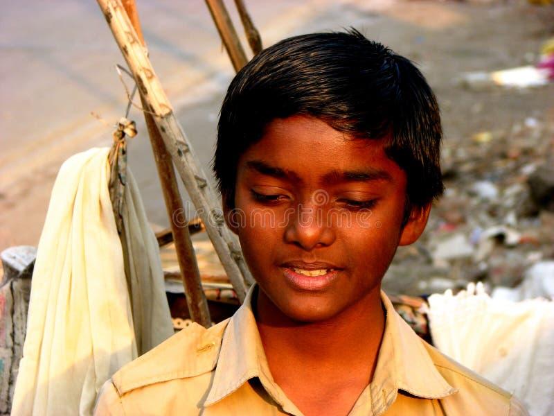 Thinking Boy stock image