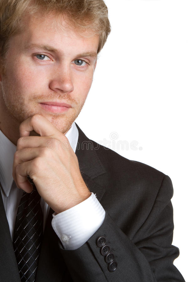 Download Thinking Businessman stock image. Image of business, businessman - 14776389