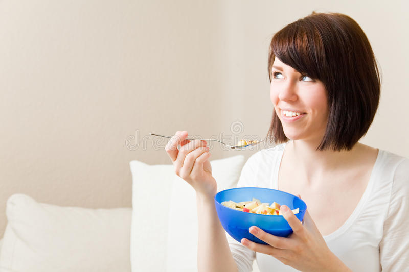 Thinking About Cereal Royalty Free Stock Images