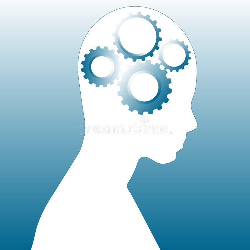 Download Thinking human stock illustration. Image of impression - 8720704