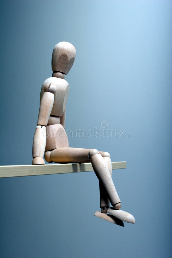 Download Thinking Man stock image. Image of edge, contemplate, copyspace - 3953557