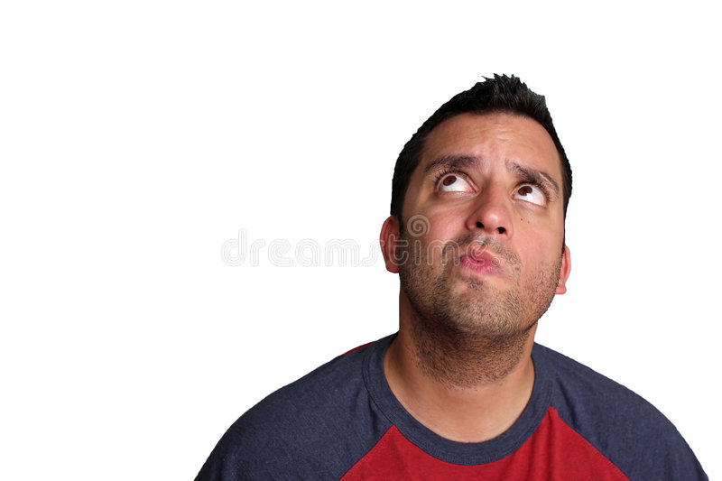 Download Thinking Man stock photo. Image of thought, male, serious - 5961930