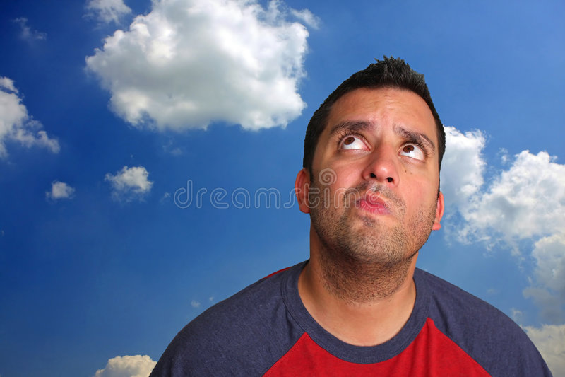 Download Thinking Man stock photo. Image of thinking, thoughtful - 6036818