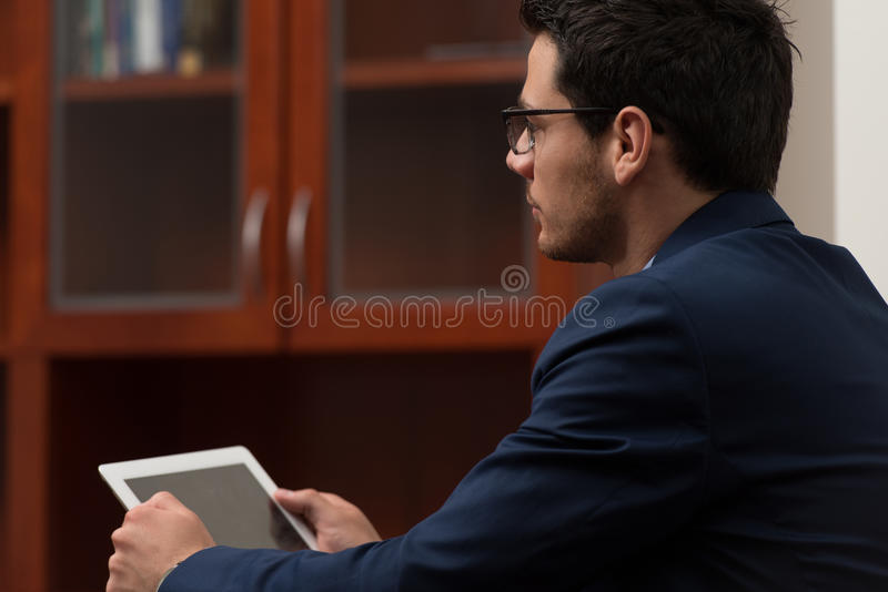 Download Thinking Man stock image. Image of internet, modern, male - 43253707