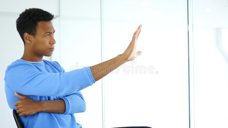 Thinking New Idea at Work, Brainstorming Creative Designer royalty free stock photos