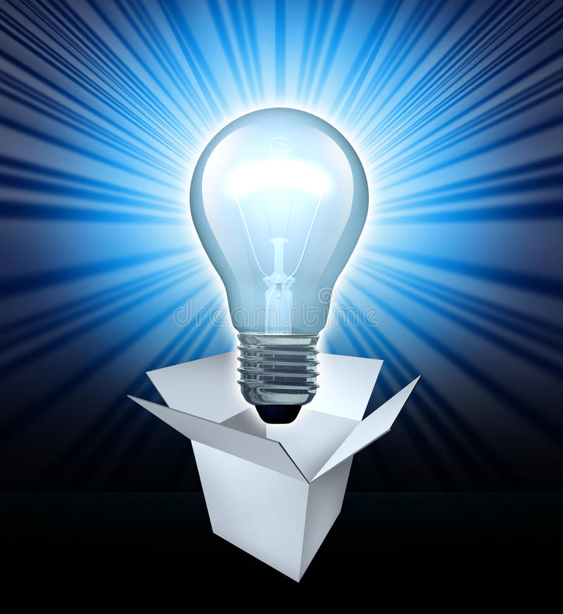 Download Thinking Out Of The Box Royalty Free Stock Photography - Image: 21785387