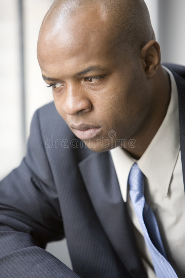 Thinking about a problem royalty free stock images
