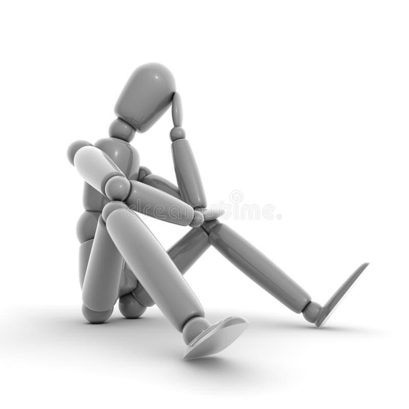 Download Thinking Shiny Grey stock illustration. Image of idea - 11066304