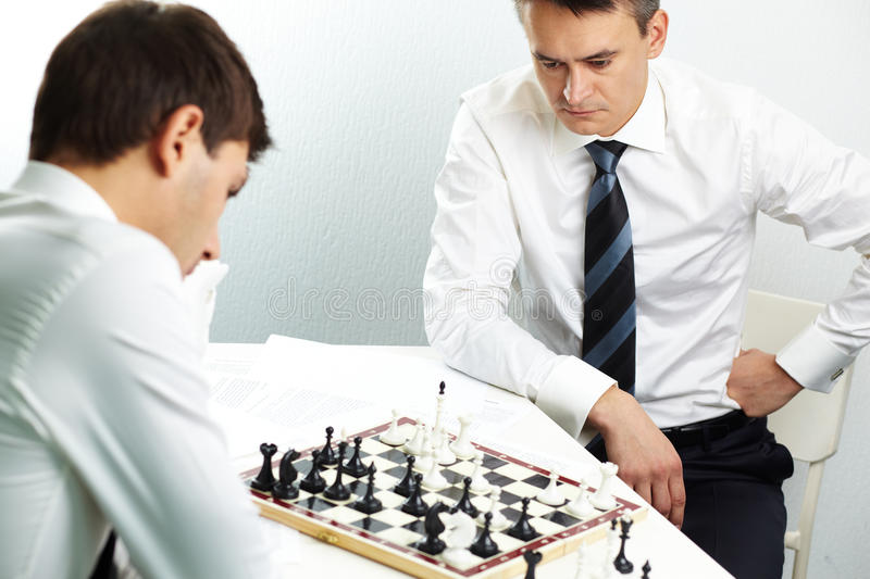 Download Thinking of strategy stock image. Image of concept, figure - 25443503