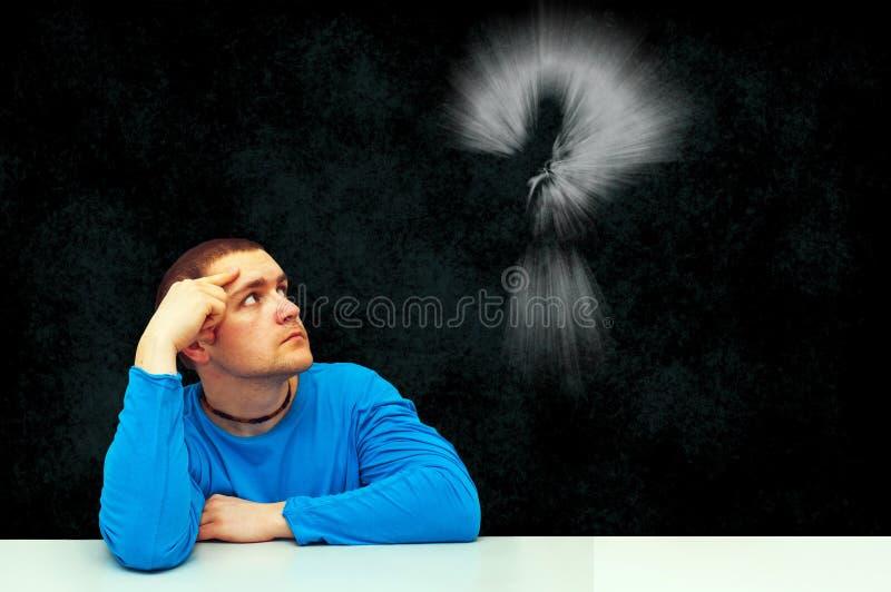 Thinking stock images