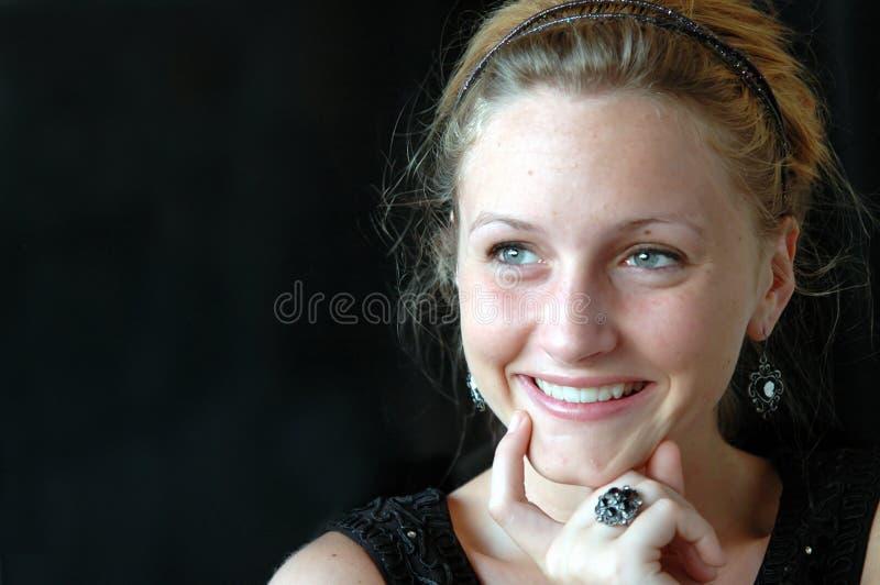 Thinking Teen Close-up Royalty Free Stock Photo